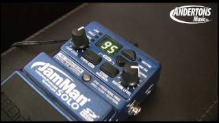 The Digitech JamMan Solo Looper pedal