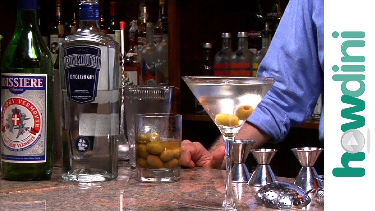How To Make A Dirty Martini   Dirty Martini Drink Recipe   YouTube
