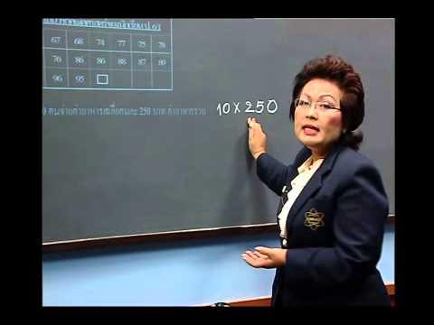 เฉลยข้อสอบ TME คณิตศาสตร์ ปี 2553 ชั้น ป.6 ข้อที่ 9