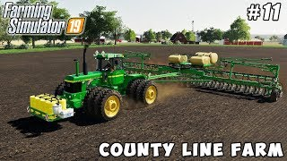 Planting cotton, selling pellets, chopping alfalfa silage | County Line Farm | FS 19 | Timelapse #11