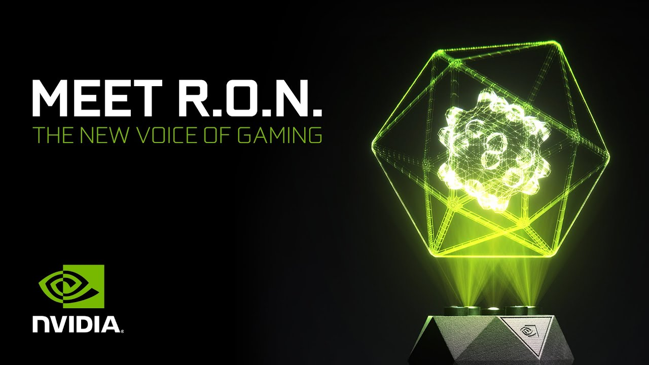 Introducing GeForce RTX R.O.N. – World's First Holographic Gaming Assistant