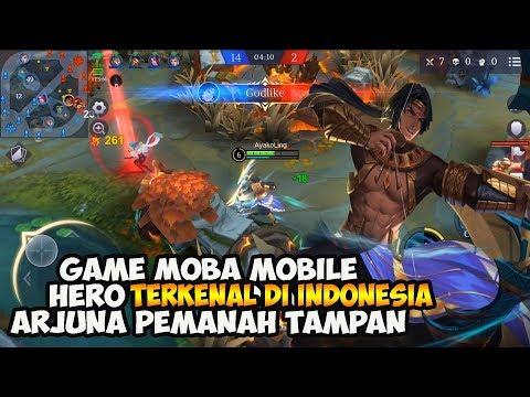 Nunggu Lokapala? Main Dulu Game MOBA Ada Hero Terkenal Di Indonesia ARJUNA! (Android/iOS)