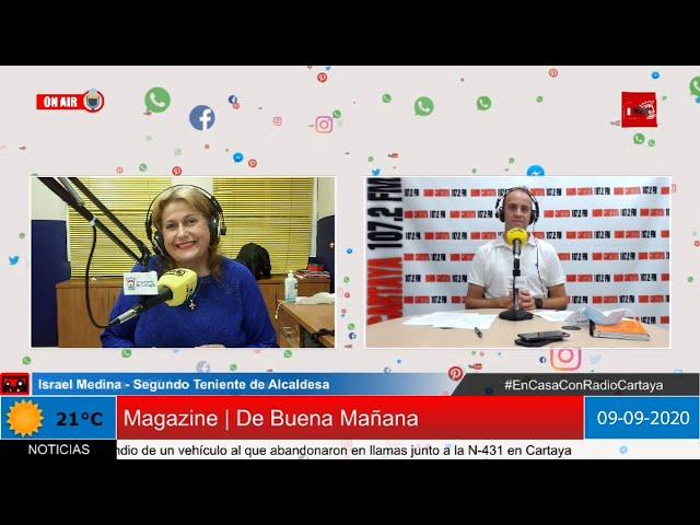 Radio Cartaya | Israel Medina, Segundo Teniente de Alcadesa