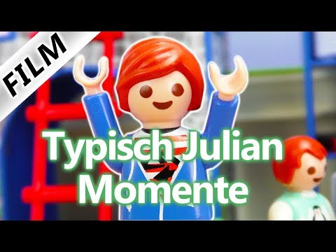 """Playmobil Film Deutsch - DIE BESTEN """"TYPISCH JULIAN"""" MOMENTE - JULIAN IST VERRÜCKT! Familie Vogel"""