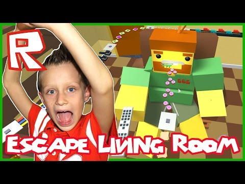 Trapping People in Roblox Escape the Living Room