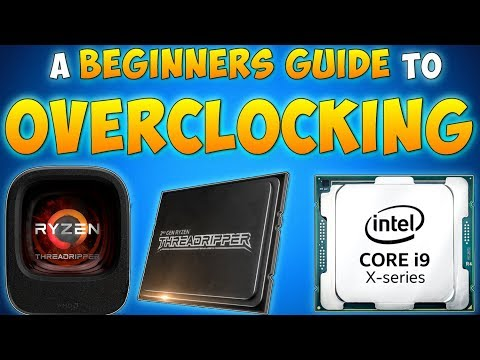 HOW TO OVERCLOCK CPU & BIOS Settings Explained (Intel & AMD) Beginners Guide to OverClocking A CPU