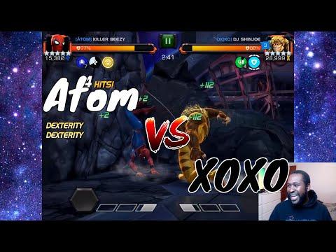AW Season 6: Atom Vs XOXO  l  Marvel Contest Of Champions