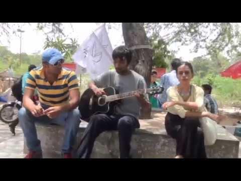 #India #Pakistan@pani#dosti # Delhi University Students# Peace@1