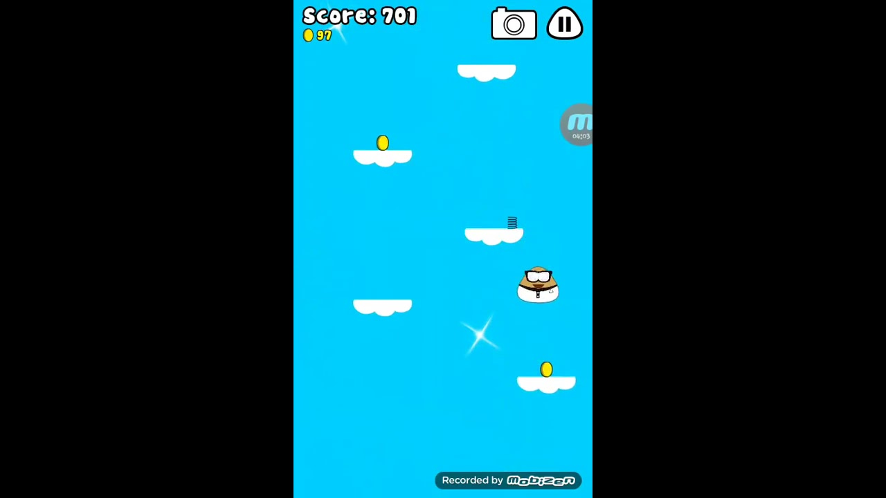 Pou Sky Jump