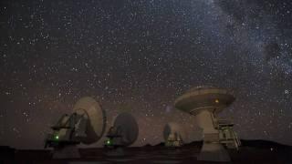 ESO ALMA Antenna Time Lapse #2 [720p]