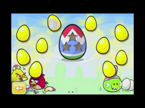 Angry Birds Seasons Golden Eggs Walkthroughs
