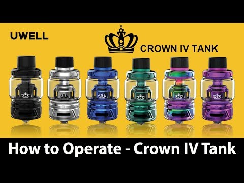 UWELL - Crown IV Tank - 4 Must Know Tips - Vape Tech