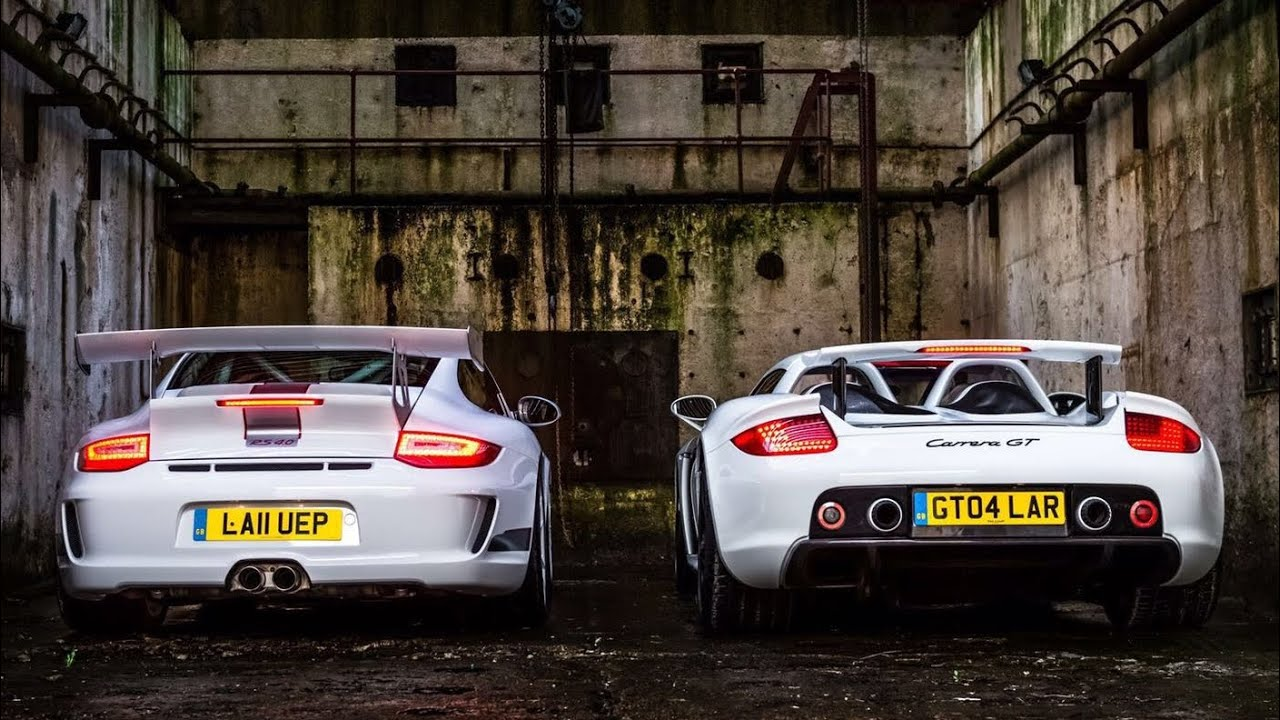 PORSCHE 997 GT3 RS 4.0 TAKES ON CARRERA GT - FULL ROAD TEST - YouTube