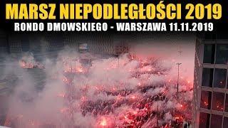 MARSZ NIEPODLEGŁOŚCI 2019 - Start z ronda Dmowskiego