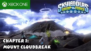 Skylanders Swap Force XBox One Gameplay 1080P Chapter 1 : Mount Cloudbreak