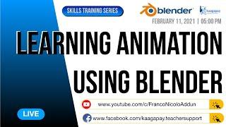 Skills Training Series   Learning Animation Using Blender