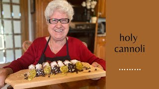 Holy Cannoli!!  &quotNonna Mia&quot Demonstrates How To Make Sicilian Cannoli (including the fried shell)