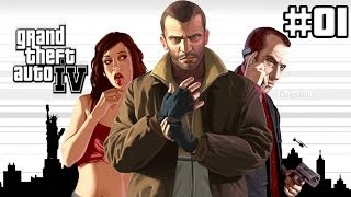 Grand Theft Auto IV - GTA 4 - Gameplay ITA - Walkthrough #01 - Lo sbarco a Liberty City