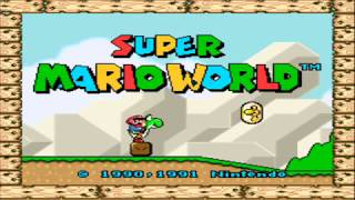 gameplay super mario world español