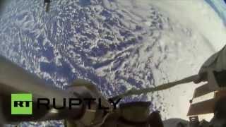 ISS : les astronautes de la NASA vous font faire une promenade dans l'espace