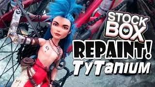 STOCK BOX Repaint! Ty Tanium Steampunk Monster High Doll OOAK …