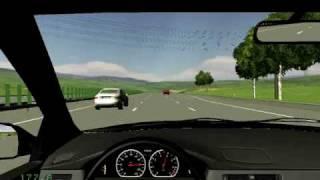 Driving simulator 2009 with crash
