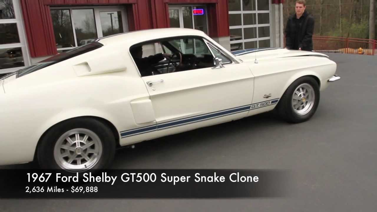 1967 Ford Shelby GT500 Super Snake Clone