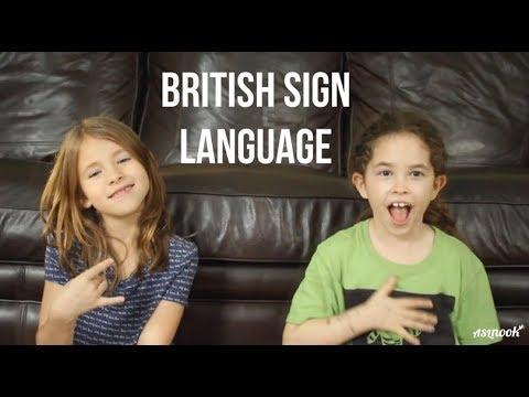 ASL Nook - British Sign Language