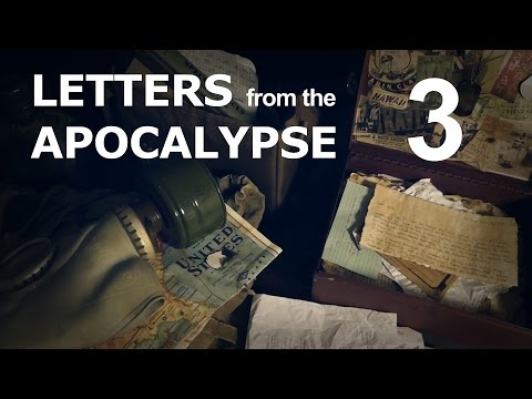 Letters from the Apocalypse - Part3 [ ASMR Viewer-Driven Fan-fiction ]