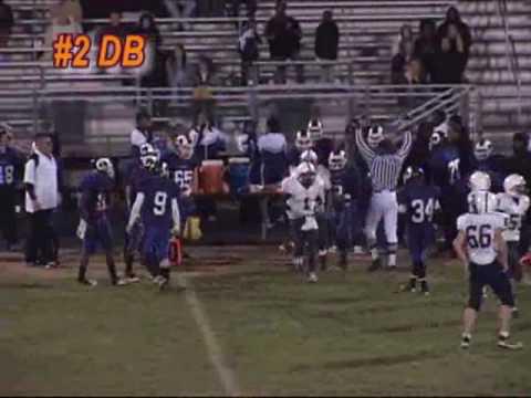 Charles Williams 2008 Football Season #2 DB WR for McDonough High School