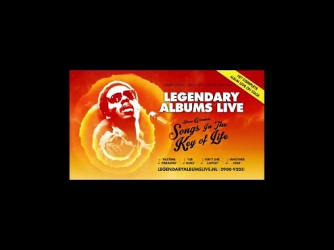 Legendary Albums Live  Songs In The Key of Life Try out