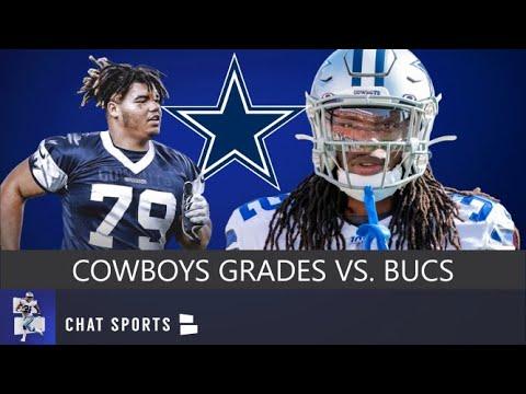 the latest 61ca9 33fe2 Cowboys Grades For Daniel Wise, Donovan Wilson & Donovan Olumba vs. Bucs In  NFL Preseason Week 4
