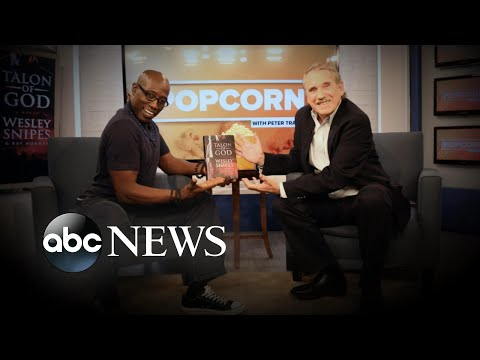 Wesley Snipes talks the inspiration behind his new book, 'Talon of God'