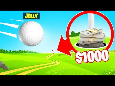 HOLE IN ONE = WIN $1,000! (Golf It)