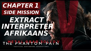Metal Gear Solid 5: The phantom pain - Extract interpreter Afrikaans - Side Ops