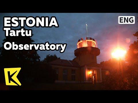【K】Estonia Travel-Tartu[에스토니아 여행-타르투]19세기 천문대/Observatory/Telescope/Struve