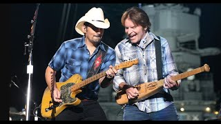 John Fogerty (CCR) and Brad Paisley play Bad Moon Rising on Jimmy Kimmel LIVE