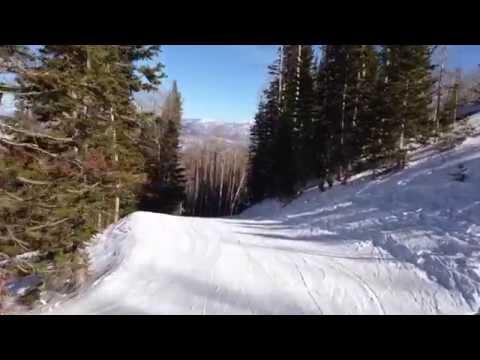 Weekend of Skiing at The Canyons, Park City, Utah