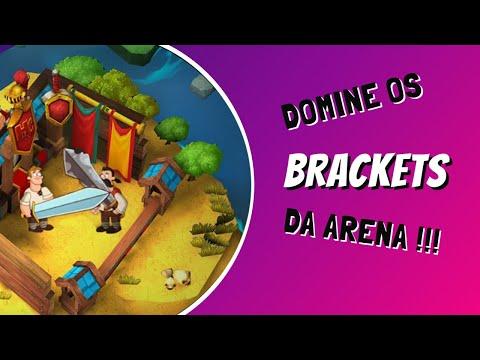 Como Funcionam Os Brackets Da Arena? | Hustle Castle