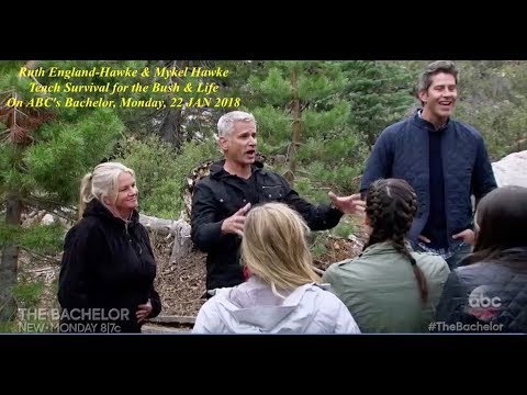 Sneak Peek Ruth EnglandHawke & Mykel Hawke teach survival to ladies on TV