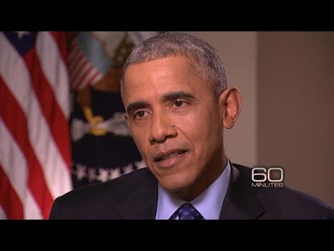 "Obama talks Russia's escalation in Syria on ""60 Minutes"""