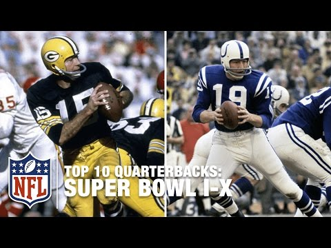 Top 10 QBs from Super Bowl I to Super Bowl X (1966-1975) | NFL