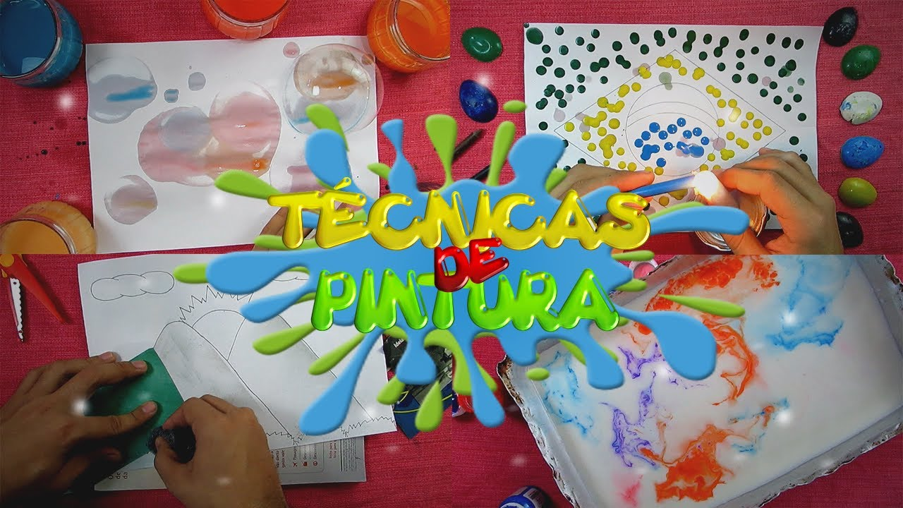 5 Tecnicas De Pintura Que Voce Precisa Testar Em Casa Aprenda Com