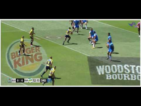 (HD) NRL Auckland Nines 2017 QF 2 | Titans v Eels | Game Highlights | Rugby League