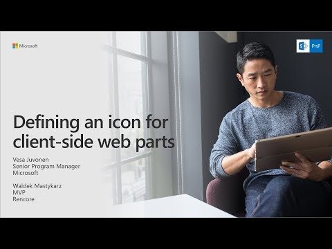 PnP Webcast - Defining an icon for client-side web part
