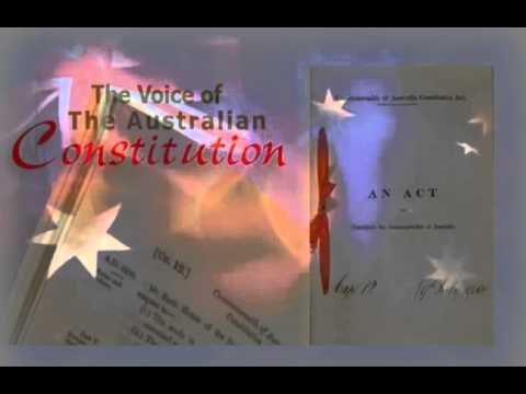 The Voice Of The Commonwealth Of Australia Constitution Act 1900 (uk)