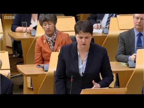 Scottish First Minister's Questions 15/3/18