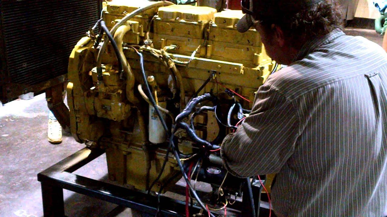 Cat Engine Start Up