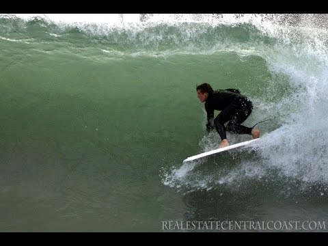 Central Coast Surfing. California Pacific Coast Photos