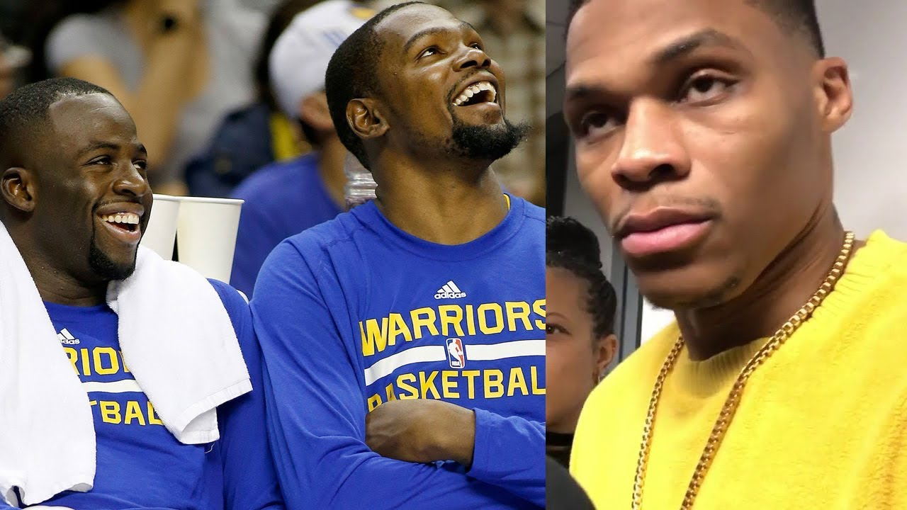 499c94877aa Kevin Durant DISSES Draymond Green